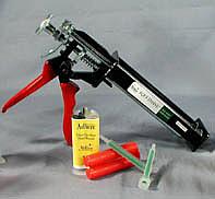 how to use vettec dispensing gun