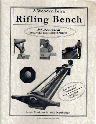 A Wooden Iowa Rifling Bench Bk102