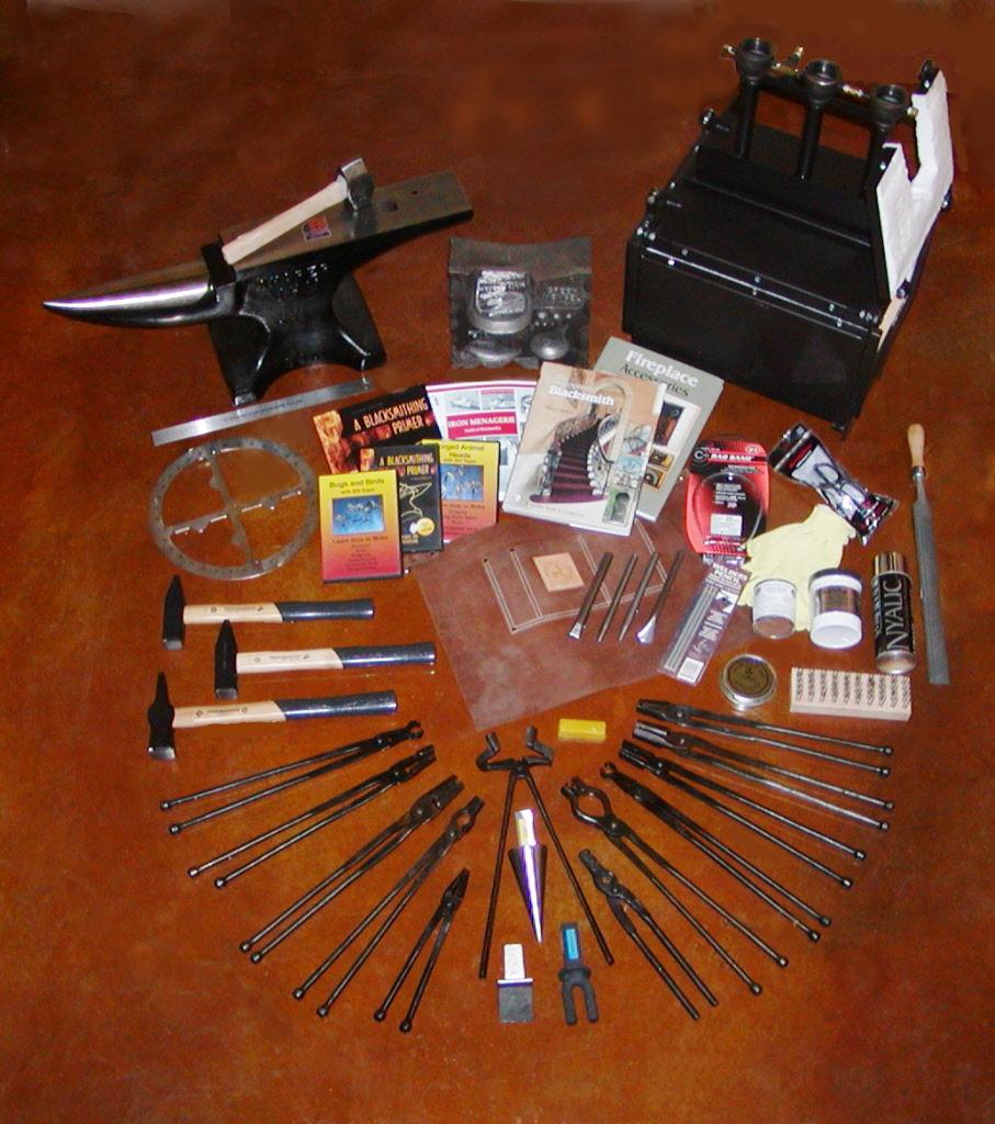 blacksmith starter kit. blacksmith starter kit i